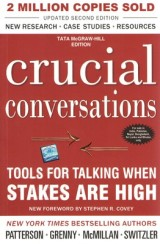 Book recommendation: Crucial Conversations