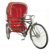Why don't Cycle Rickshaws have gears ?